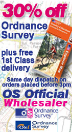 Dash4it - 30% off Ordnance Survey Maps