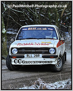 SHMC member Andy Ballantyne co-driving on the 2012 Wyedean Rally